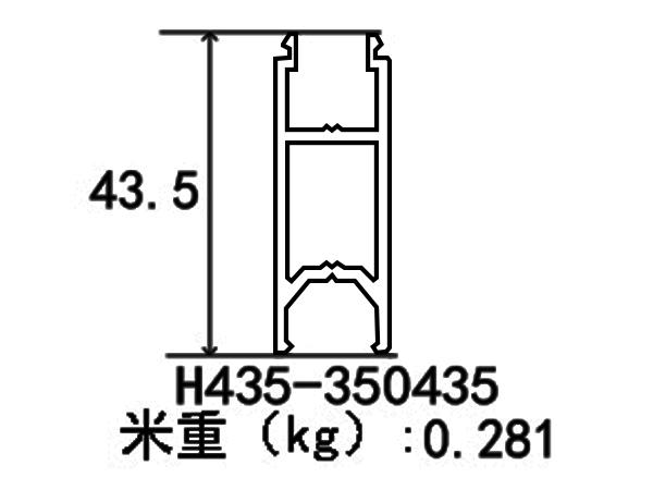 H435 350435